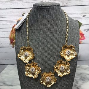 Kate Spade Precious Poppies Gold Necklace